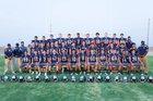 Stone Ridge Christian Knights Boys Varsity Football Fall 16-17 team photo.