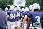 Mount St. Joseph Gaels Boys Varsity Football Fall 16-17 team photo.