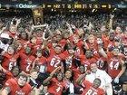 Many Tigers Boys Varsity Football Fall 16-17 team photo.