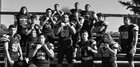 Davis Pirates Boys Varsity Football Fall 16-17 team photo.