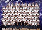 Harrison Raiders Boys Varsity Football Fall 16-17 team photo.