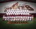Heritage Coyotes Boys Varsity Football Fall 16-17 team photo.