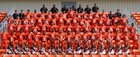 Nashville Scrappers Boys Varsity Football Fall 16-17 team photo.