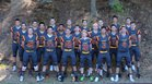 Lakeside Lions Boys Varsity Football Fall 16-17 team photo.