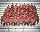 Ontario Jaguars Boys Varsity Football Fall 16-17 team photo.