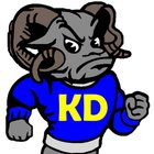 Kennard-Dale Rams Boys Varsity Football Fall 16-17 team photo.