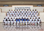 Fort Bend Elkins Knights Boys Varsity Football Fall 16-17 team photo.