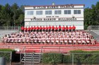 Winder-Barrow Bulldogs Boys Varsity Football Fall 16-17 team photo.
