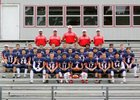 Horatio Lions Boys Varsity Football Fall 16-17 team photo.