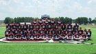 Stuttgart Ricebirds Boys Varsity Football Fall 16-17 team photo.