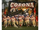 Corona Panthers Boys Varsity Football Fall 16-17 team photo.