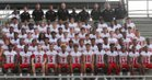 Harrison Central Red Rebels Boys Varsity Football Fall 16-17 team photo.