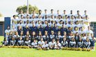Southlands Christian Eagles Boys Varsity Football Fall 16-17 team photo.