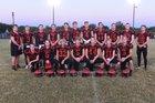 Heritage Christian Eagles Boys Varsity Football Fall 16-17 team photo.