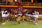 Cantwell-Sacred Heart of Mary Cardinals Boys Varsity Football Fall 16-17 team photo.