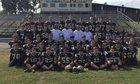 Clinton Yellowjackets Boys Varsity Football Fall 16-17 team photo.