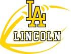 Lincoln Abes Boys Varsity Football Fall 16-17 team photo.