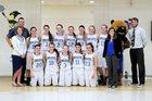 Cedaredge Bruins Girls Varsity Basketball Winter 15-16 team photo.