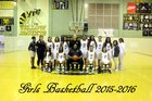 New Iberia Yellowjackets Girls Varsity Basketball Winter 15-16 team photo.