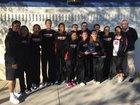 Palos Verdes Sea Kings Girls Varsity Basketball Winter 15-16 team photo.