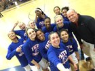Faith Baptist Contenders Girls Varsity Basketball Winter 15-16 team photo.