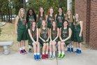 The Woodlands Highlanders Girls Varsity Basketball Winter 15-16 team photo.