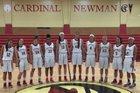 Cardinal Newman Cardinals Girls Varsity Basketball Winter 15-16 team photo.