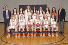 Grainger Grizzlies Girls Varsity Basketball Winter 15-16 team photo.