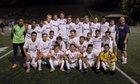 Boulder Panthers Boys Varsity Soccer Fall 15-16 team photo.