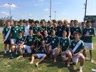 Lewisburg Green Dragons Boys Varsity Soccer Fall 15-16 team photo.