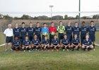 Vista del Lago Eagles Boys Varsity Soccer Fall 15-16 team photo.