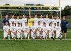 Notre Dame Crusaders Boys Varsity Soccer Fall 16-17 team photo.