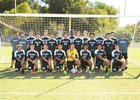 Porter Ridge Pirates Boys Varsity Soccer Fall 16-17 team photo.