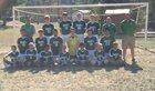 Blue Ridge Early College Bobcats Boys Varsity Soccer Fall 16-17 team photo.