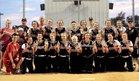 Knightstown Panthers Girls Varsity Softball Spring 18-19 team photo.