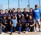 Leuzinger Olympians Girls Varsity Softball Spring 18-19 team photo.