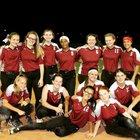 Real Life Christian Academy Raptors Girls Varsity Softball Spring 18-19 team photo.