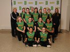 Bishop Blanchet Braves Girls Varsity Softball Spring 18-19 team photo.