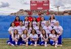 Holbrook Roadrunners Girls Varsity Softball Spring 18-19 team photo.