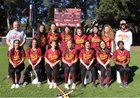 Menlo-Atherton Bears Girls Varsity Softball Spring 18-19 team photo.