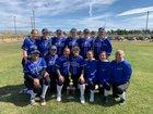 Excelsior Charter Eagles Girls Varsity Softball Spring 18-19 team photo.