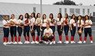 Doral Academy Firebirds Girls Varsity Softball Spring 18-19 team photo.