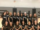 Cossatot River Eagles Girls Varsity Softball Spring 18-19 team photo.