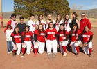 Grants Pirates Girls Varsity Softball Spring 18-19 team photo.