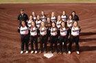 Waldron Bulldogs Girls Varsity Softball Spring 18-19 team photo.