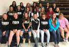 West Fork Tigers Girls Varsity Softball Spring 18-19 team photo.
