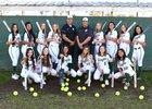 Ontario Christian Knights Girls Varsity Softball Spring 18-19 team photo.