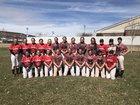 Manti Templars Girls Varsity Softball Spring 18-19 team photo.
