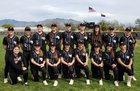 Mountain View Mountain Lions Girls Varsity Softball Spring 18-19 team photo.