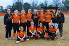 Newport Greyhounds Girls Varsity Softball Spring 18-19 team photo.